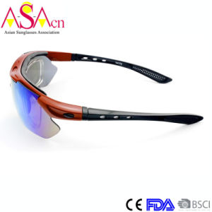 Fashion Exchangeable Temple Sports Tr90 Sunglasses with Inside Optical Frames Xiamen pictures & photos