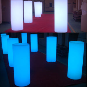 LED Column Cylinder Make Passway for Entrance pictures & photos