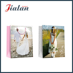 Glossy Laminated Coated Paper Wedding Dress Shopping Gift Paper Bag pictures & photos