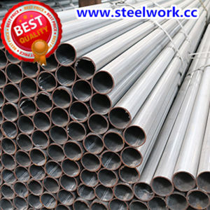 ERW Welded Annaeling Black Round Steel Tube