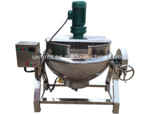 Indsutrial Cooking Pot with Double Jackets pictures & photos