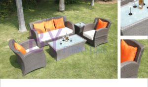 PE Rattan Sofa Set Outdoor Furniture pictures & photos
