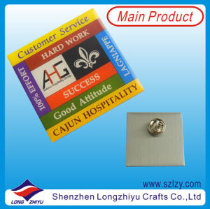 Colorful Logo Printing Metal Pin Badge with Your Own Design Lapel Pin Badge pictures & photos