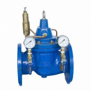 Epoxy Coating Ductile Iron Pressure Differential Balance Valve pictures & photos