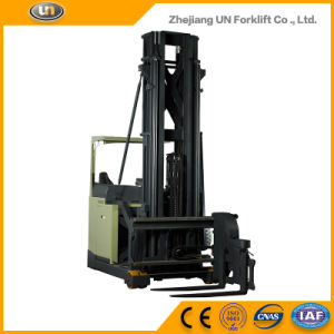 Zhejiang New Electric Narrow 1.5ton Forklift Truck pictures & photos