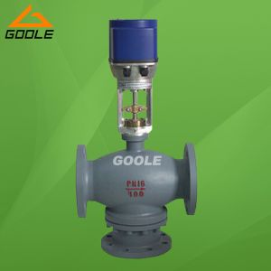 Electric Three Way (3-way) Mixing Control Valve (GAZDLX) pictures & photos