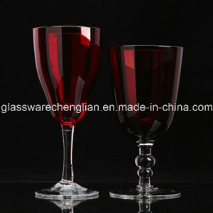 Wedding Souvenirs Colored Red Wine Glasses (B-WG056) pictures & photos
