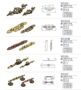 Furniture Hardware Accessories All Kinds Zinc Alloy Cabinet Handle pictures & photos