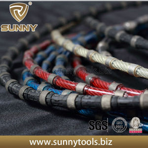 Diamond Granite Stone Quarry Cutting Wire Saw pictures & photos