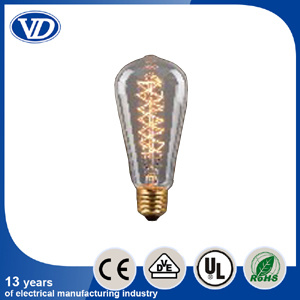 Carbon Filament Light Bulb St58 pictures & photos