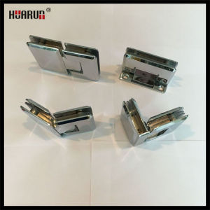 Stainless Steel/Brass/Zinc Alloy Shower Room Glass Door Hinge (HR1500H Series) pictures & photos