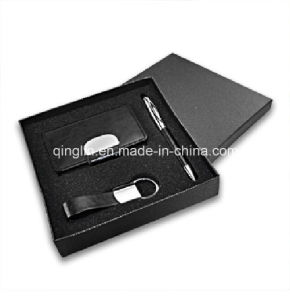 Custom Business Card Case and Key Holder Gift Set (QL-TZ-0051) pictures & photos