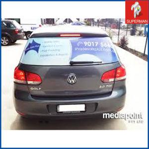 Cheap One Way Vision Car Window Sticker (SM140012)