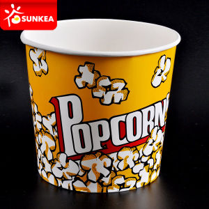 600ml 800ml 900ml 1300ml Disposable Paper Popcorn Cup pictures & photos