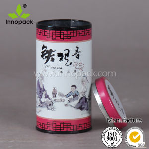 Small Printed Round Coffee Tin Can with Lid pictures & photos