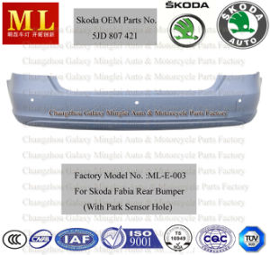 Car Rear Bumper for Skoda Fabia Fom 2007 (5J6 807 421H) pictures & photos