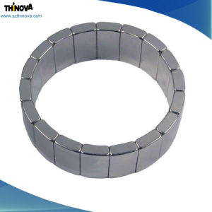 Popular Rare Earth Permanent Sintered NdFeB Arc Shape Magnets for Sale pictures & photos