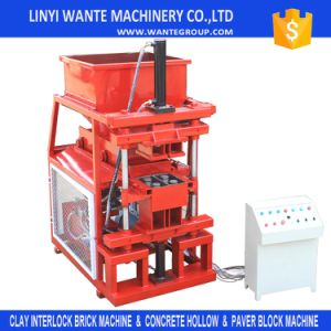 Wt2-10 Fully Automatic Hydraulic Pressing Interlocking Block Making Machine for Small Business pictures & photos