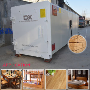 China High Production Capacity Hf Vacuum Wood Dryer Manufacturer pictures & photos