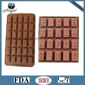 26 Alphabets Silicone Ice Cube Tray Food Grade Baking Tool Si04 pictures & photos