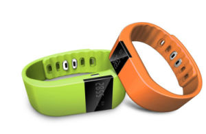 a Variety of Color Bluetooth Bracelets for Time Display Watch pictures & photos