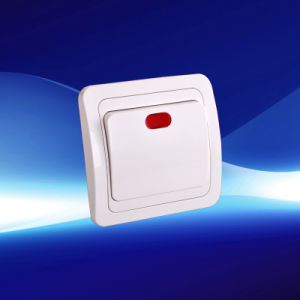 Eropean New Style Wall Switch with Light