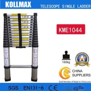 Magic Aluminum Telescopic Single Ladder with En131 CE GS Kme1044 pictures & photos