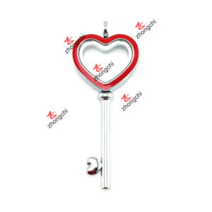 Fashion Customized Alloy Heart Key Lockets for Love Gifts (HKL50814) pictures & photos