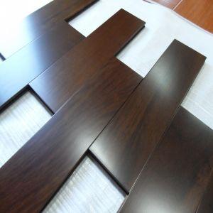 Cholocate Color Indoor Design Taun Solid Wood Flooring