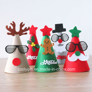 Folded Packaging Die Cut Felt Decoration Christmas Tree Ornament pictures & photos