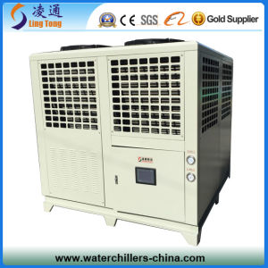 30 Ton Air Cooled Screw Chiller (air to water screw chiller) pictures & photos