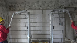Automatic Wall Plastering Rendering Machine pictures & photos