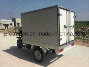 4-Stroke, Singel Cylinder Tricycle with Insulation Box pictures & photos