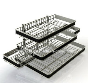 Counter Display Shelf Wire Rack Steel Rack with Ce (G-CD02) pictures & photos