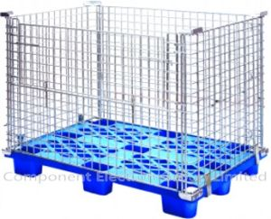 Metal Cage Wire Mesh Container Supermarket Shopping Storage Cage pictures & photos