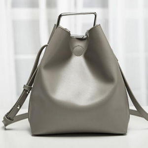 2017 High Quality Designer Women Bucket Bag with Square Shaped Hardware Emg4724 pictures & photos