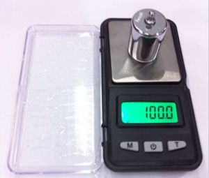 Black High Accuracy 0.01 G Electronic Jewelry Scale pictures & photos