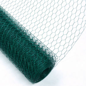 China ISO9001 Standard PVC Coated Hexagonal Mesh pictures & photos