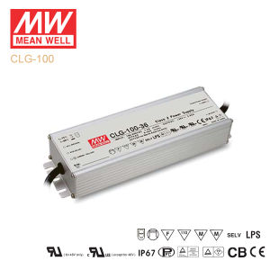 Original Meanwell Clg-100 Series Single Output Waterproof IP67 LED Driver pictures & photos