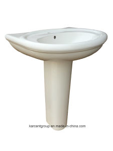 2016 New Design Ce Certification Pedestal Basin 1078