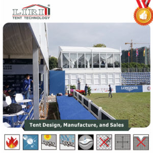 Two Story Tent: Double Decker with Glass Walls and ABS Walls for Catering and Holispitality pictures & photos