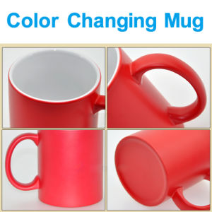 Color Changing Ceramic Coated Sublimation Promotional Mug pictures & photos