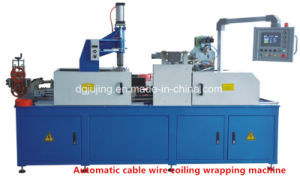 Automatic PLC Wire Coiling and Wrapping Machine pictures & photos