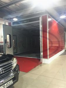 Hot Sale! Water Based Paint Booth with High Quality Wld8400 pictures & photos
