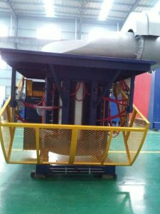 12ton Industrial Furnace for Melting Iron Steel Aluminum Copper Bronze Alloy