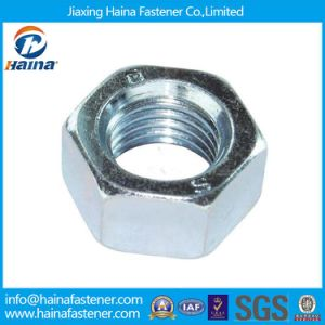 Carbon Steel DIN934 Gr2 Gr5 Zinc Finish Hexagon Nuts pictures & photos