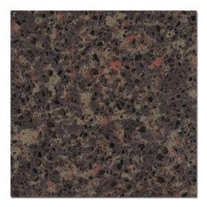 Brown Color Good Quality Quartz Stone Countertop pictures & photos