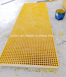 Factory Direct Supply FRP GRP Fiberglass Anti-Skid Grating pictures & photos