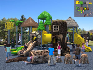 Kaiqi Group Outdoor Acient Tribe Theme Playground Equipment for Children (KQ10172A) pictures & photos