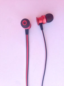 3.5mm Powerful High Quality Stereo Earphone with Mic pictures & photos